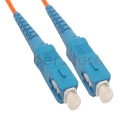 Multimode Simplex OM1 62.5/125 Fiber Patch Cable SC-SC 1 Meter